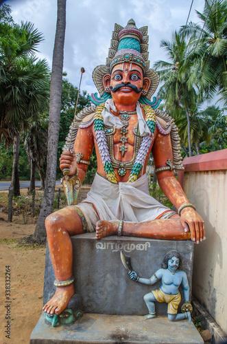 Fényképezés Local deity workshiped as hindu gods & goddess