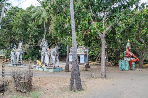 Local deity workshiped as hindu gods & goddess Tapéta, Fotótapéta
