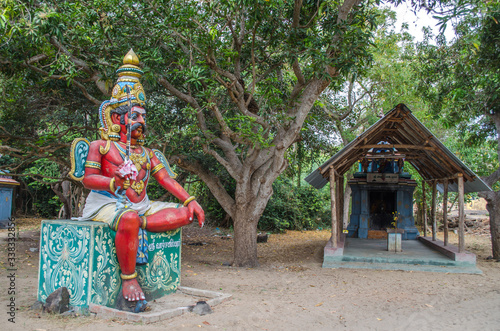 Fotografia, Obraz Local deity workshiped as hindu gods & goddess