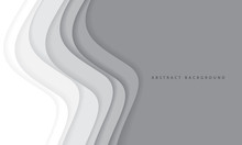 Abstract White Grey Tone Paper...