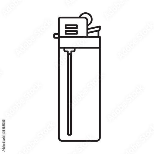 Photo Lighter vector icon