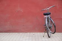 Chinese Bike Outside The Forbi...