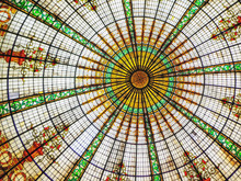Stained Glass Dome Ceiling At ...