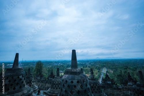 Borobudur, Indonesia Canvas Print