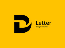 Letter D Logo Icon Design Temp...