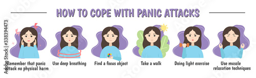 Fotografía How to deal with a panic attack