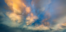 Dramatic Sky With Thundercloud...