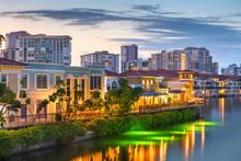 Downtown Naples, Florida, USA