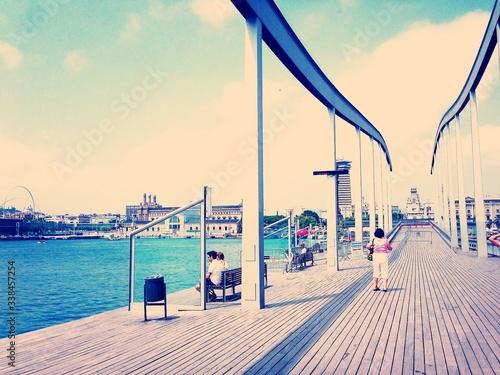Obraz na plátně View Of Promenade