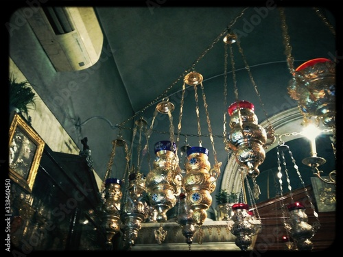 Photo Incense Censers Hanging In A Row