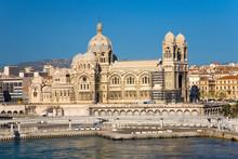 Notre Dame De La Garde, Marseille, Provence, France On The Mediterranean Sea