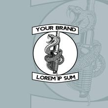 The Snake And Spark Plug  Illustration Design