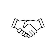 Handshake Icon, Handshake Sign...
