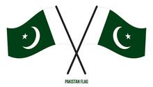 Pakistan Flag Waving Vector Il...