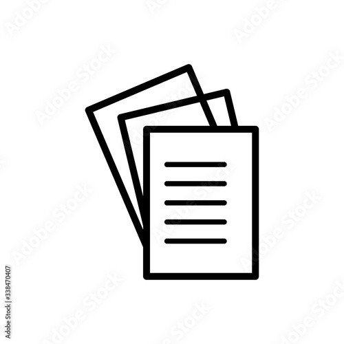 Fototapety, obrazy: paper icon vector design template