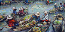 Oil Painting From Thailand
