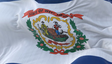Flag Of West Virginia State, U...