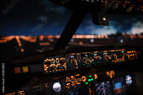 Leinwand Poster Autopilot controller