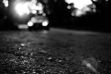 Defocused Image Of Road