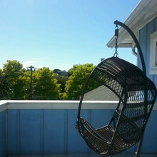 Swing Chair On Balcony
