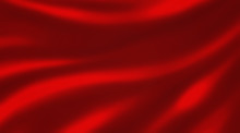 Red Silk Background Illustrati...