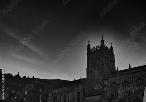 Fototapeta Silhouettes Of Buildings
