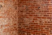 Interior Shot Of A Brick Wall ...