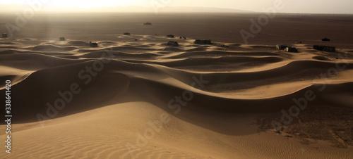 Stampa su Tela Desert At Sunset
