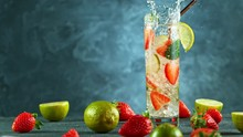 Refreshing Strawberry Mojito C...