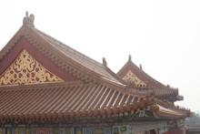 Roof Tops Of Forbidden City
