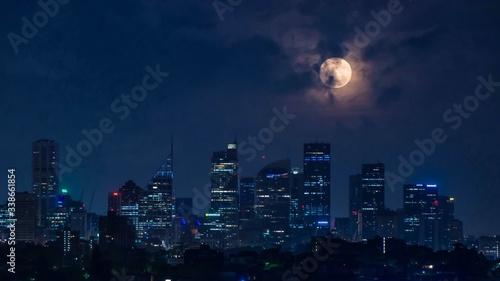 City At Night - fototapety na wymiar