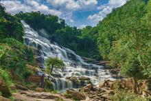 Mae Ya Waterfall, Chiang Mai, ...