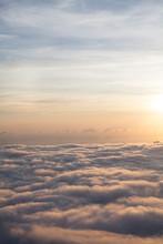 Cloudscape At Sunset