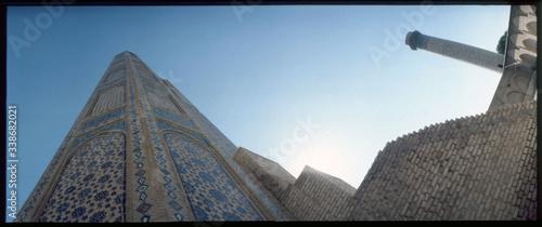 Fototapeta Low-angle View Of Minaret obraz