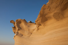 Sand Rock In Abu Dhabi