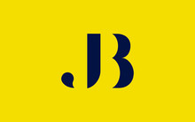 BJ Or JB And B Or J Uppercase ...