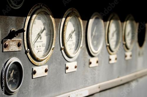 Fototapeta Close-up Of Dials