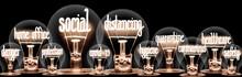 Light Bulbs With Social Distan...