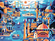 Istanbul Panoramic Cityscape T...