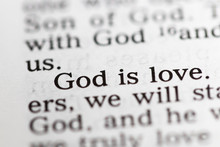 Biblical Text. God Is Love. Ch...