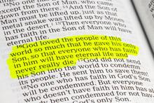 God Is Love. John 3.16 Biblical Text