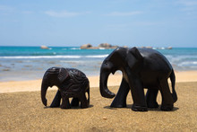 Wooden Souvenirs From Sri Lanka