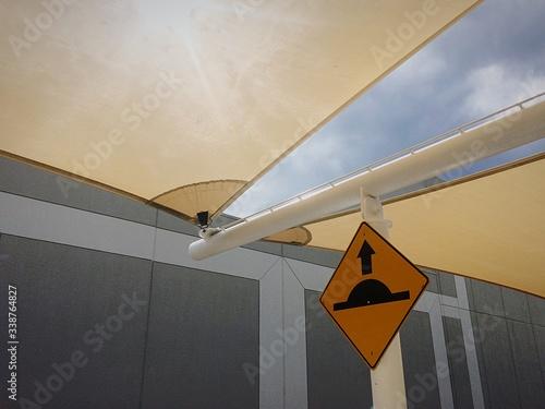 Fotografie, Obraz Speed Bump Sign