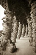 Colonnade At Old Ruins