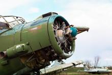 Old Destroyed Soviet Abandoned...