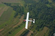 Aircraft Ekolot KR-030 Topaz On The Fly