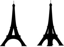 Eiffel Tower 2 Sides