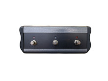 Isolated Ampifier Foot Switch Controller With White Background.