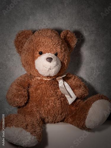teddy bear favorite children's toy #338866038