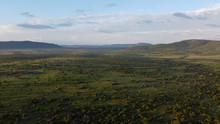 Masai Mara Aerial View